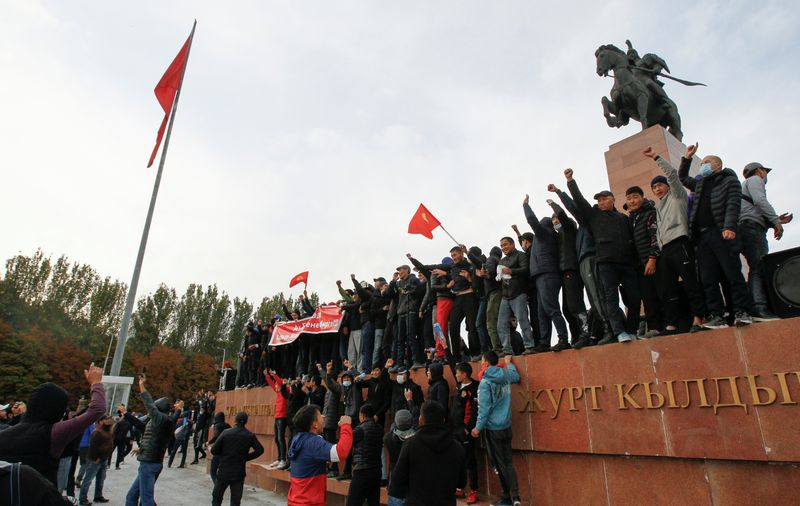 Kyrgyz president strengthens hold on power as new PM named By Reuters